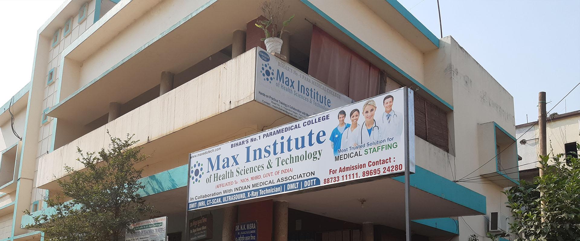Paramedical college in Patna, Bihar   Max Institute, Paramedical